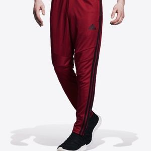 NWOT adidas Tiro 19 Maroon track pants